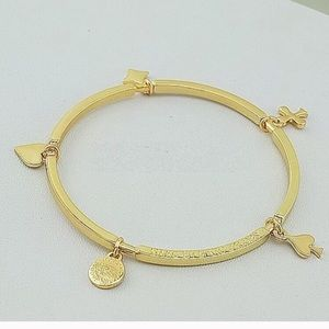 Jewelry - NWT Gold Poker Bracelet by Marc Jacobs